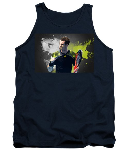 Andy Murray Tank Top by Semih Yurdabak