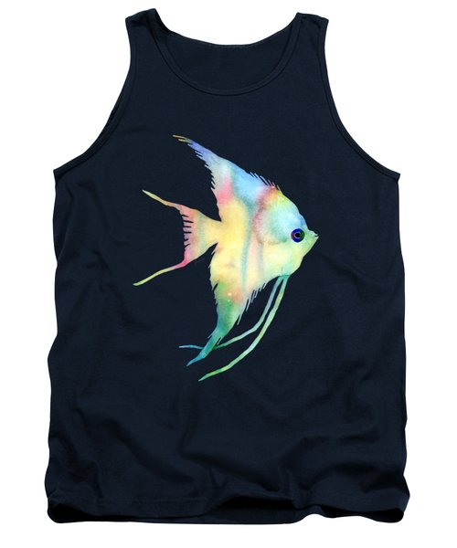 Angelfish I - Solid Background Tank Top