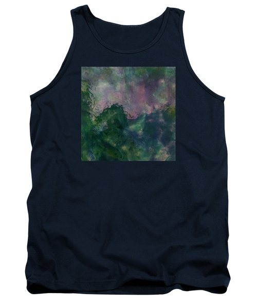 Angry Ocean Tank Top by Alan Casadei