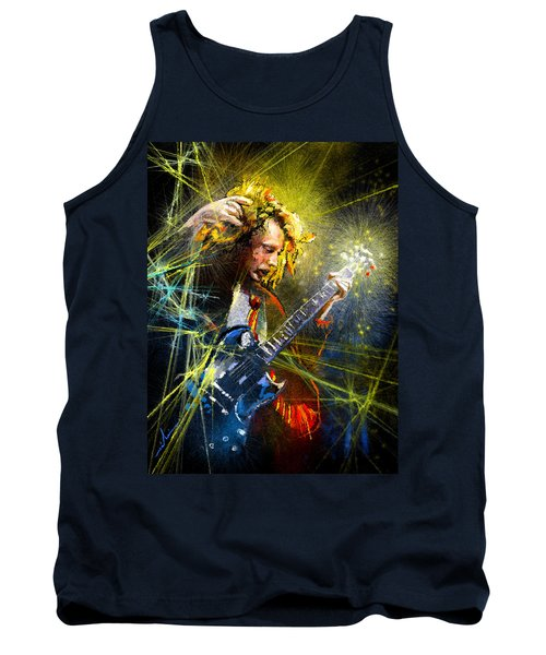 Angus Young Tank Top by Miki De Goodaboom