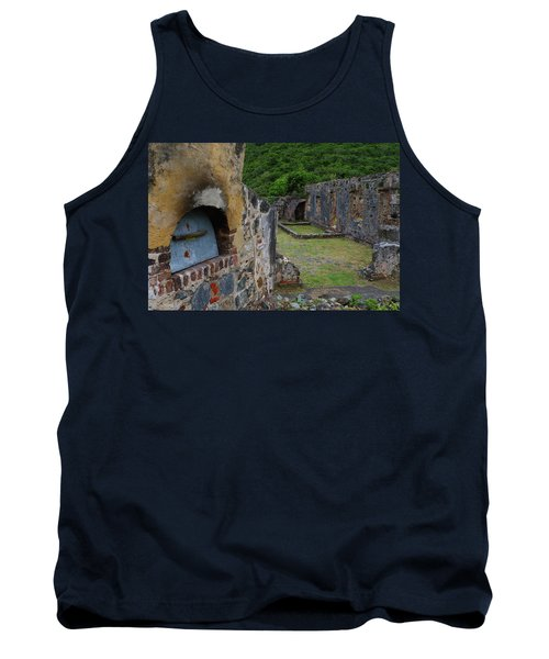 Tank Top featuring the photograph Annaberg Sugar Mill Ruins At U.s. Virgin Islands National Park by Jetson Nguyen