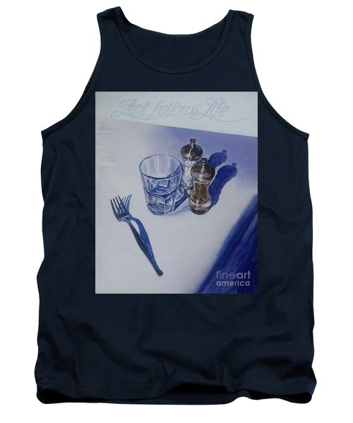 Tank Top featuring the painting Anticipation by Sandra Phryce-Jones