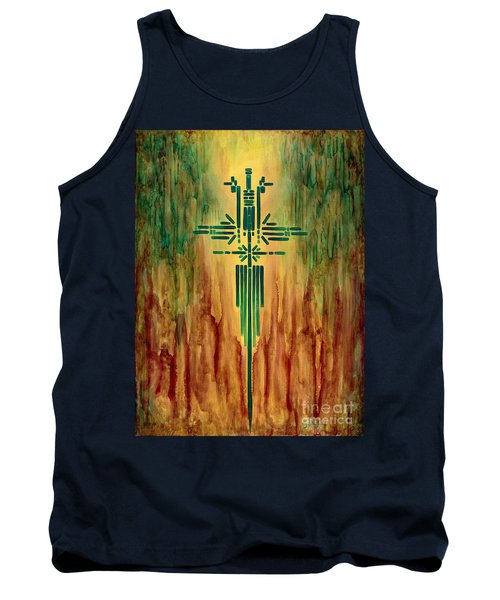 Archangel Michael Tank Top