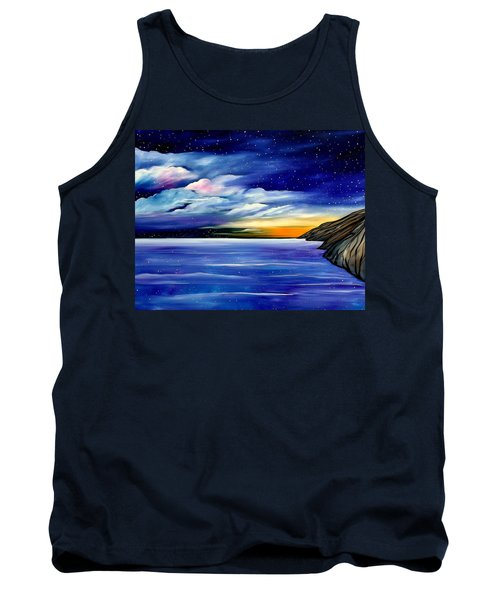 Are The Stars Out Tonight Tank Top by Lisa Aerts
