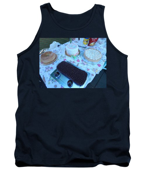 Tank Top featuring the photograph Art And Food by Beto Machado