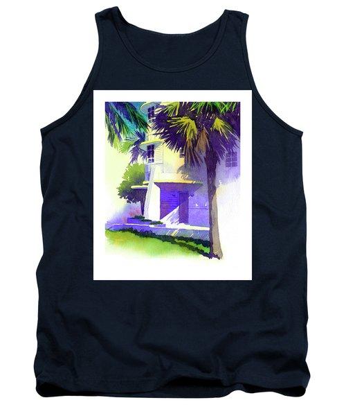 Art Deco Hotel Miami Tank Top