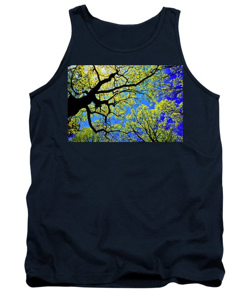 Artsy Tree Canopy Series, Early Spring - # 01 Tank Top