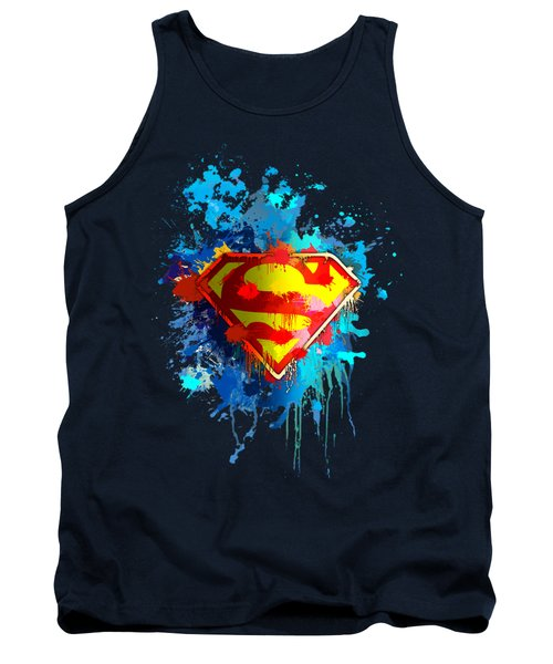 Tank Top featuring the digital art Smallville by Anthony Mwangi