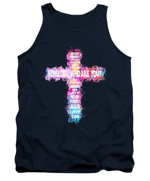 The Cross Of Victory Tank Top