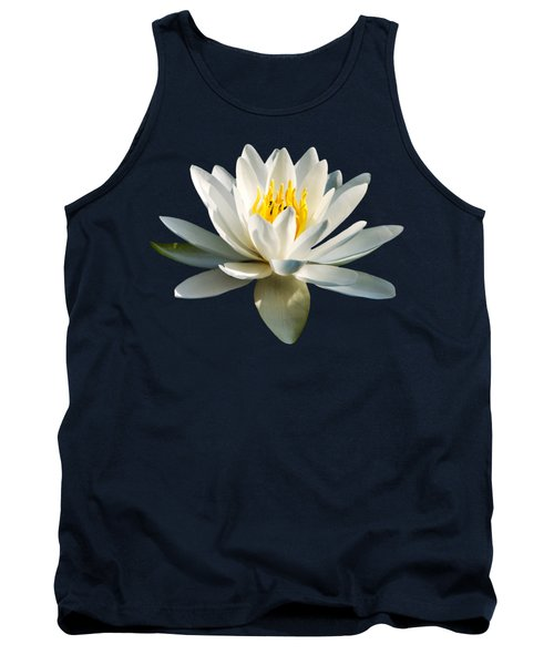 White Water Lily Tank Top
