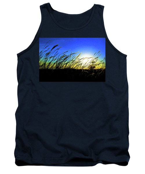 Tank Top featuring the photograph Tall Grass by Bill Kesler