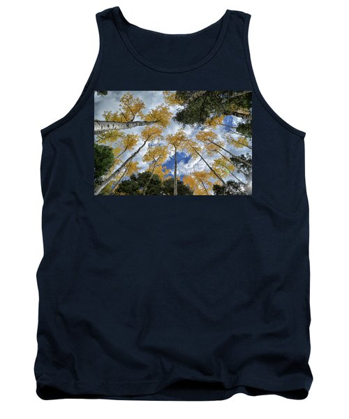 Aspens Reaching Tank Top by Kevin Munro