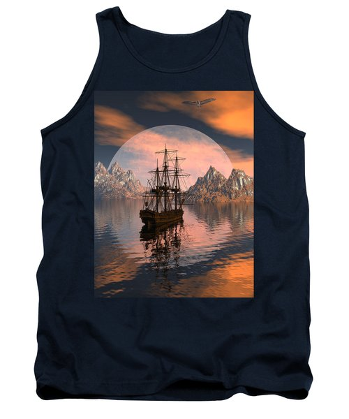 At Anchor Tank Top by Claude McCoy
