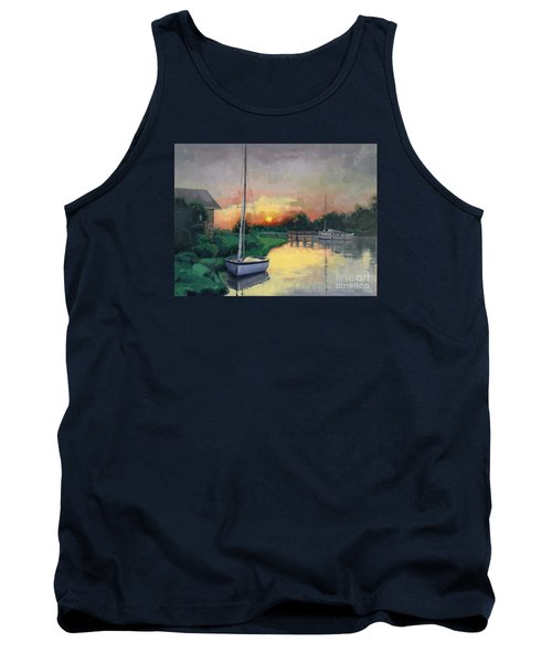 Tank Top featuring the painting At Ease Sold by Nancy Parsons