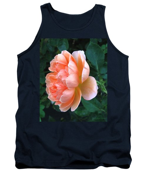 Tank Top featuring the photograph August Rose 09 by Joyce Dickens