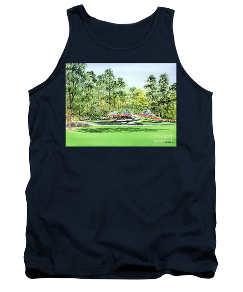 Augusta National Golf Course Tank Top by Bill Holkham