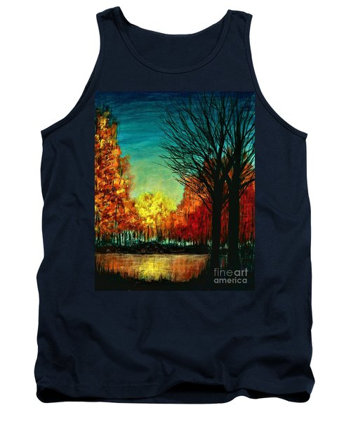 Autumn Silhouette  Tank Top