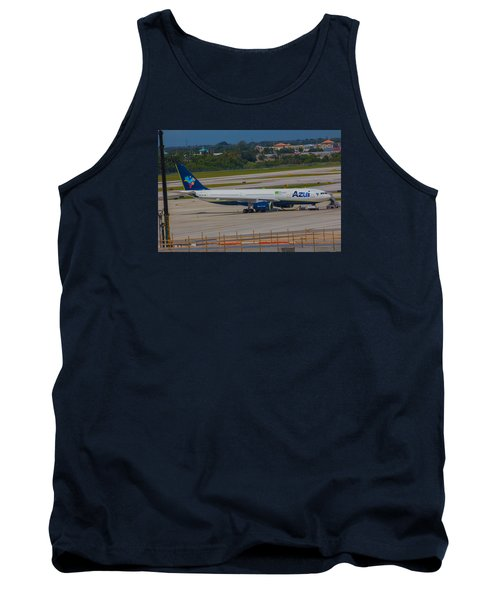 Azul Barzillian Airline Tank Top