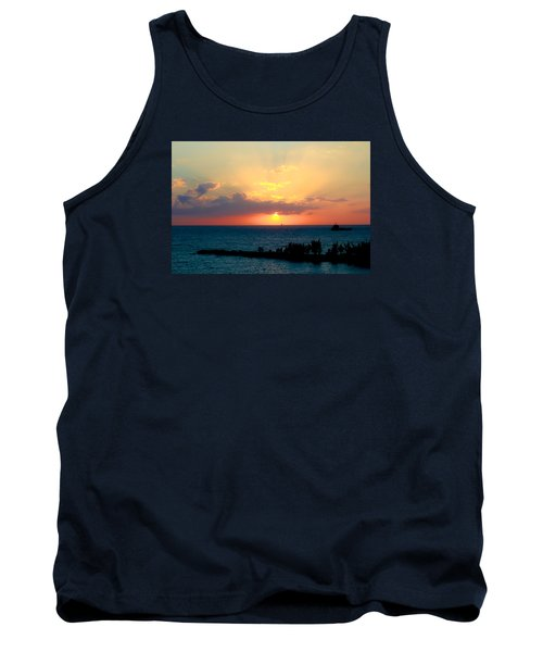 Bahamas Sunset Tank Top