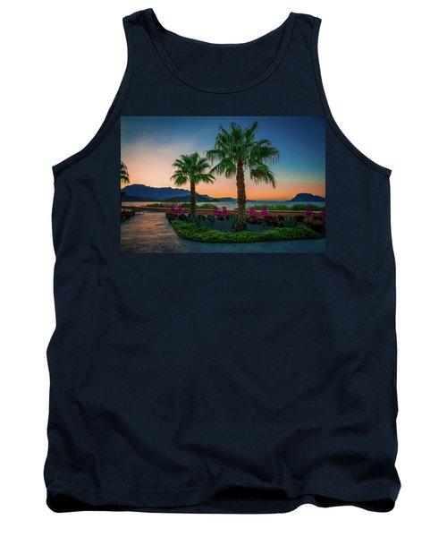 Baja Sunset Tank Top