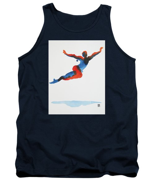 Ballet Dancer 1 Flying Tank Top by Shungaboy X