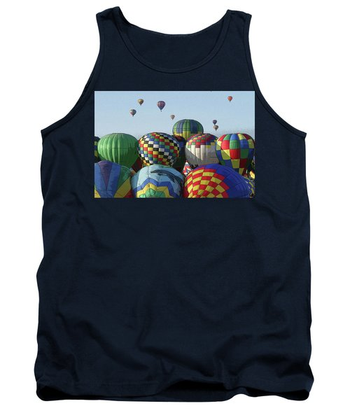 Balloon Traffic Jam Tank Top by Marie Leslie