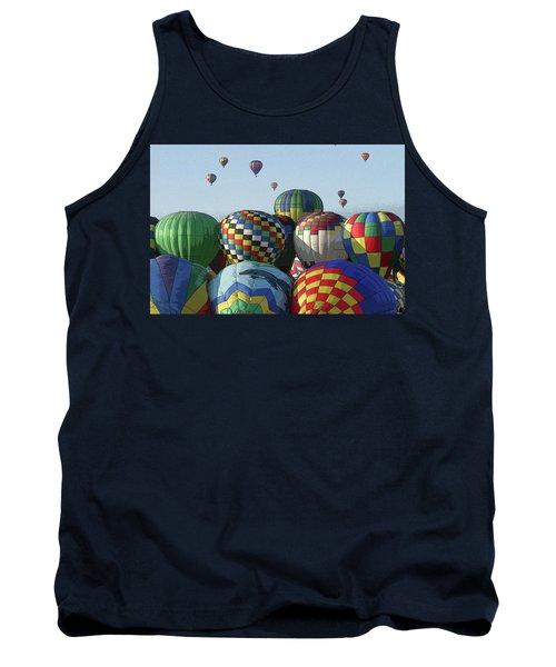 Balloon Traffic Jam Tank Top
