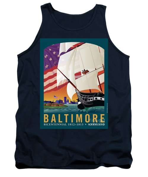 Baltimore - By The Dawns Early Light Tank Top