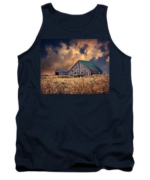 Barn Surrounded With Beauty Tank Top
