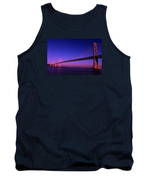 Bay Bridge Sunset Tank Top