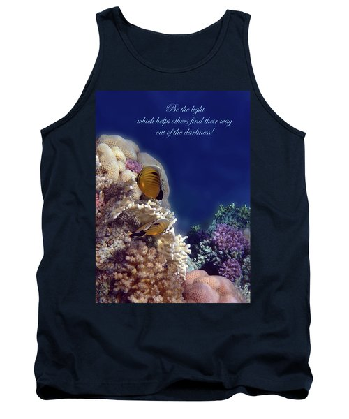 Be The Light Which Helps Others Tank Top