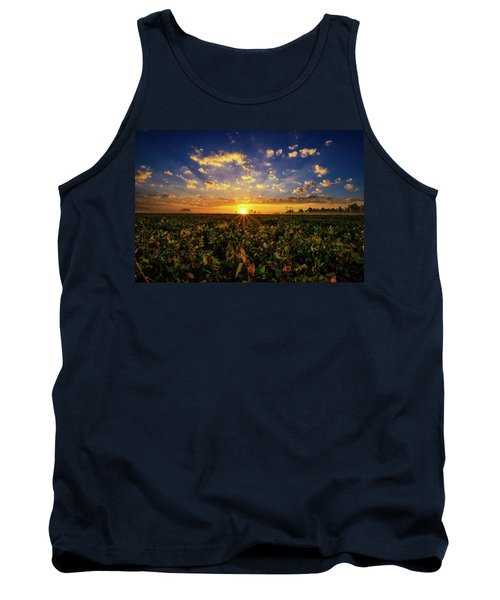 Bean Field Dawn Tank Top