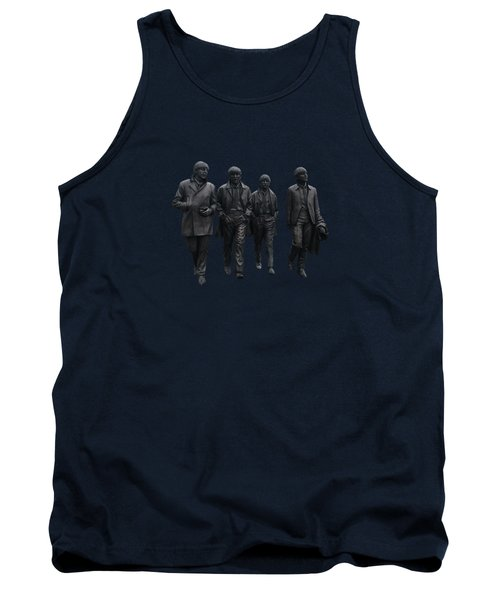 Tank Top featuring the photograph Beatles Remembered  by Movie Poster Prints