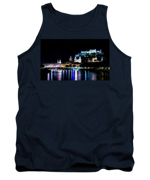 Tank Top featuring the photograph Beautiful Salzburg by David Morefield