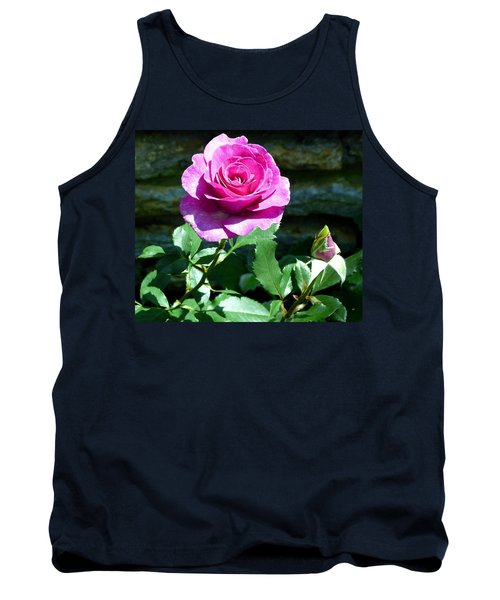 Tank Top featuring the photograph Beauty And The Bud by Will Borden
