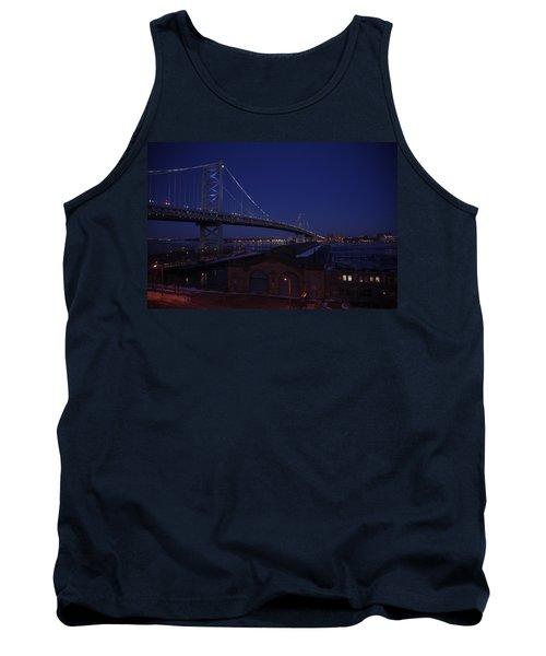 Benjamin Franklin Bridge Tank Top