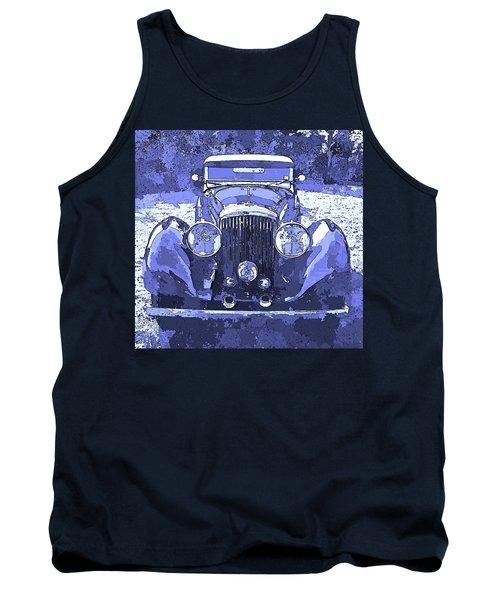 Bentley Blue Pop Art P2 Tank Top