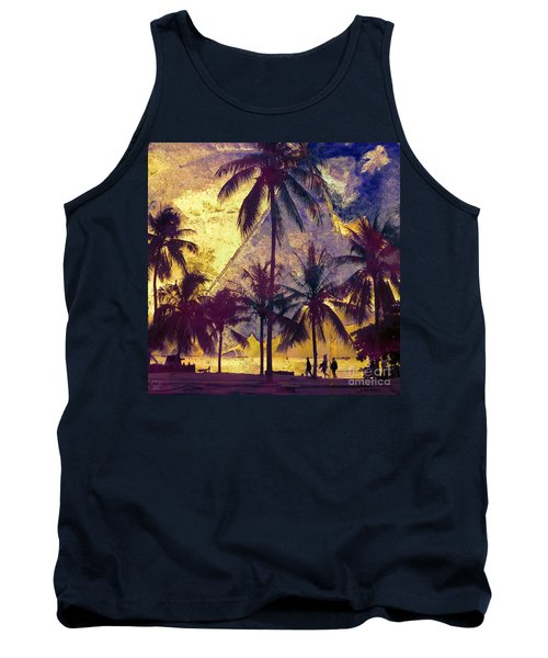 Tank Top featuring the photograph Beside The Sea by LemonArt Photography