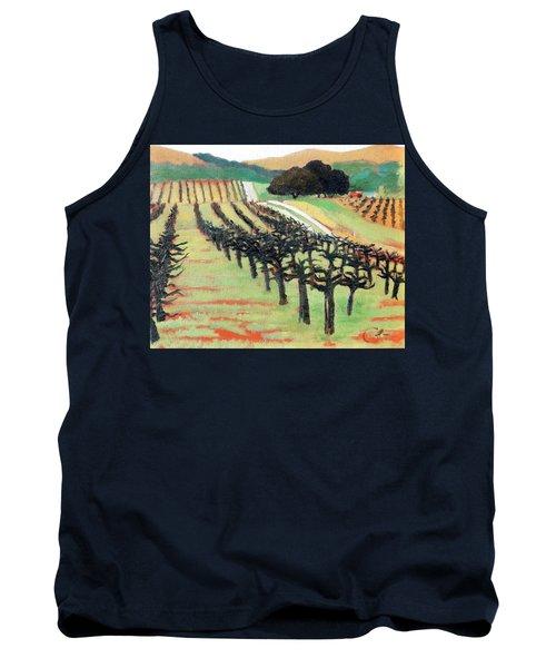Between Crops Tank Top by Gary Coleman