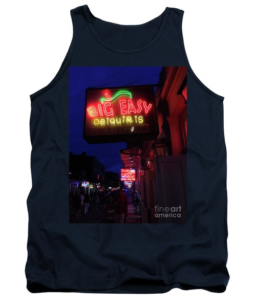 Tank Top featuring the photograph Big Easy Sign by Steven Spak