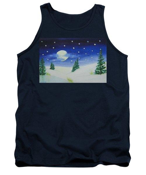 Big Moon Christmas Tank Top