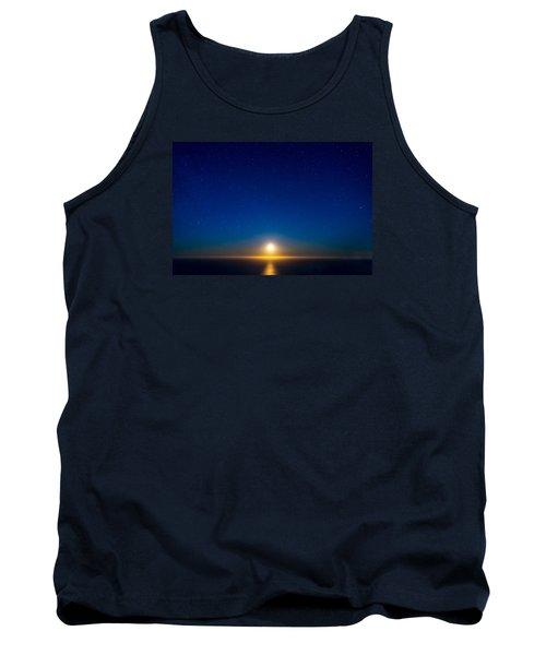 Big Sur Moonset Tank Top by Derek Dean