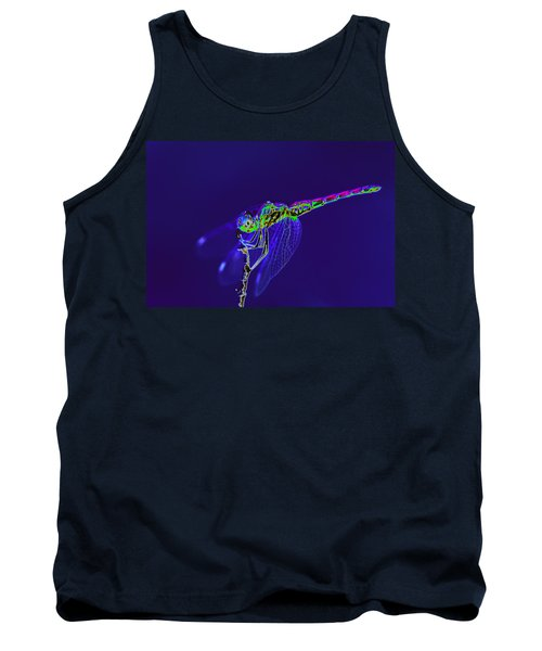 Bioluminescent Dragonfly Tank Top