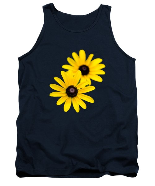Tank Top featuring the photograph Black Eyed Susans by Christina Rollo