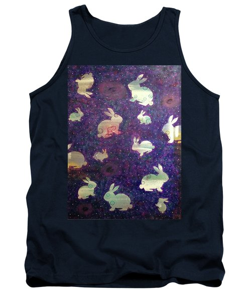 Black Holes And Bunnies Tank Top