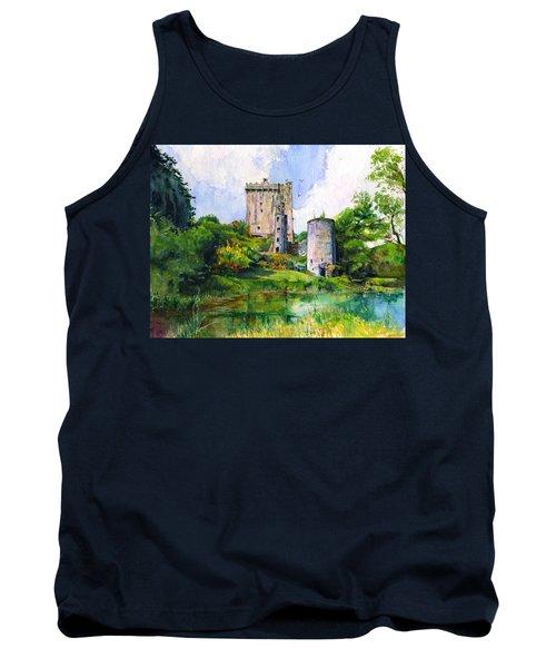 Blarney Castle Landscape Tank Top by John D Benson