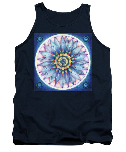 Tank Top featuring the painting Bloom Of Counsciousness by Anna Ewa Miarczynska