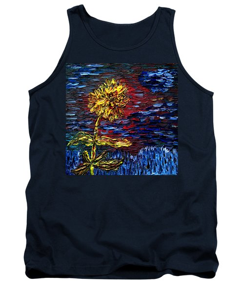 Blossoming Soul Tank Top by Vadim Levin