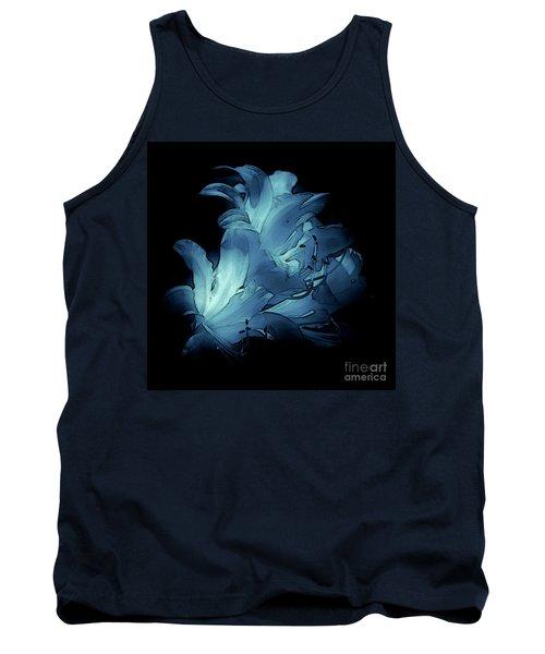 Blue Abstract No. 1 Tank Top