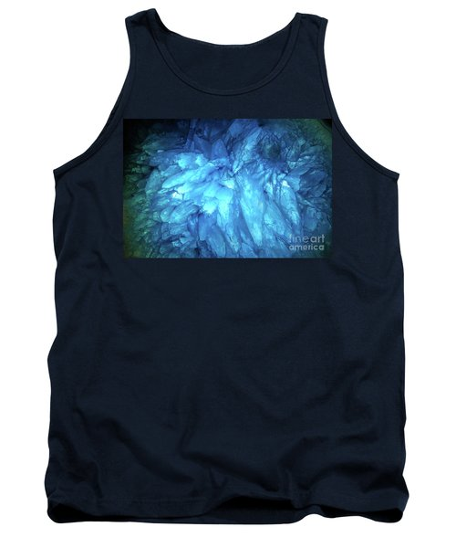 Tank Top featuring the photograph Blue Agate by Nicholas Burningham
